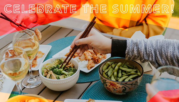 Celebrate the summer!