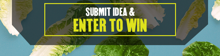 CTA: Submit idea & enter to win