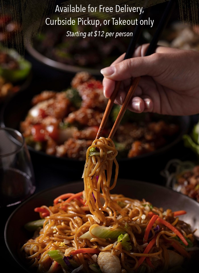 Available for Free Delivery, Curbside Pickup, or Takeout only Starting at $12 per person