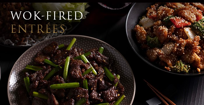Wok-Fired Entrees
